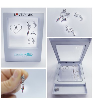 PACK LOVELY MIX PENDIENTES